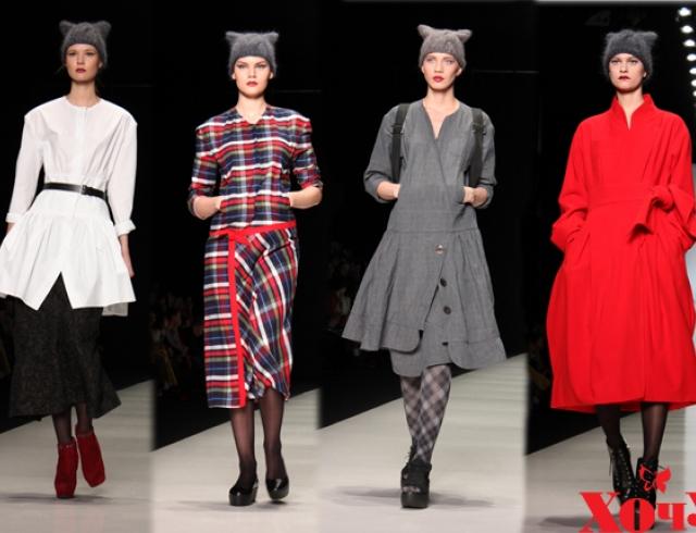 Ирина Хакамада представила новую коллекцию одежды