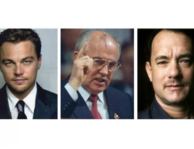 ДиКаприо и Хэнкс снимут фильм о Горбачеве