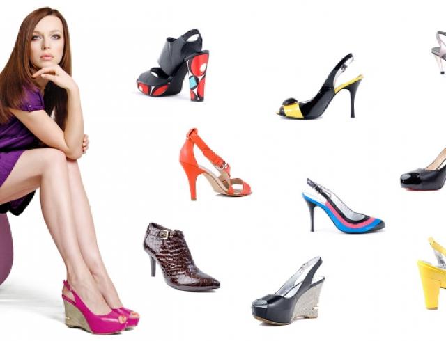 Как правильно подобрать цветную обувь?
