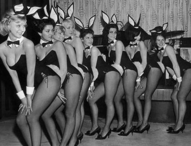Как выглядят ретро-снимки девушек Playboy? Фото