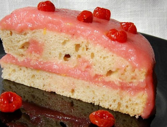 Постный торт на минеральной воде