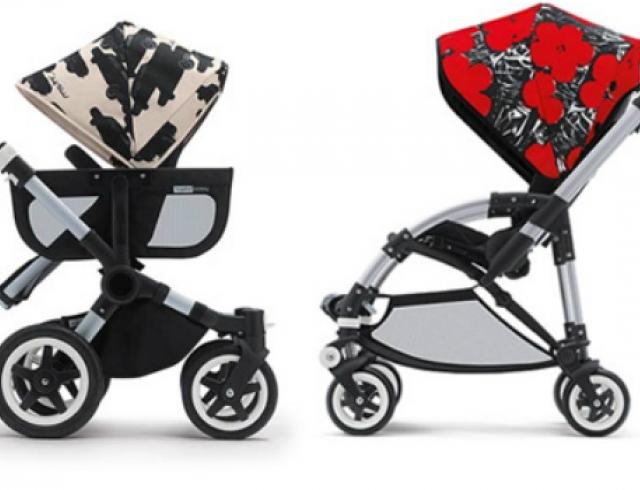 Появились детские коляски с принтами Энди Уорхола