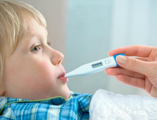 Как сбить температуру у ребенка?