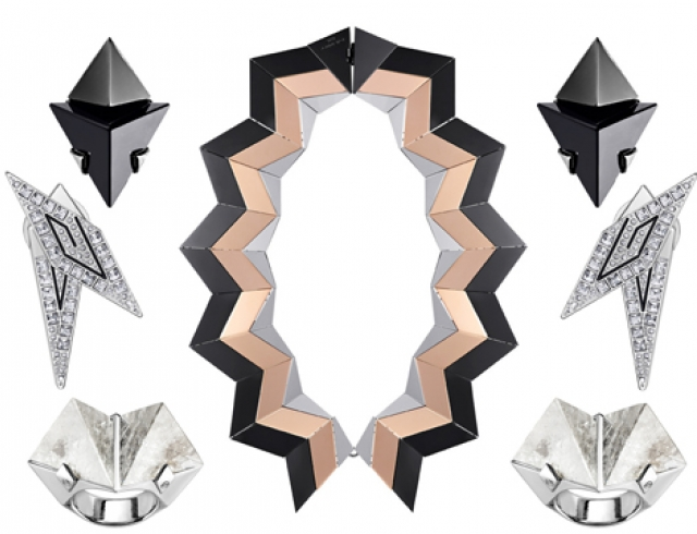 Футуристичная коллекция украшений от Louis Vuitton