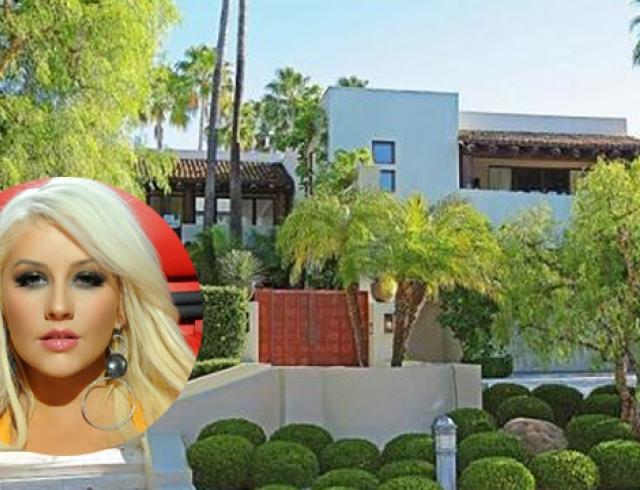 Кристина Агилера купила новый дом