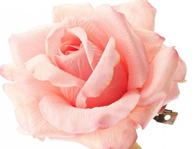 Заколка с цветком своими руками. Мастер-класс