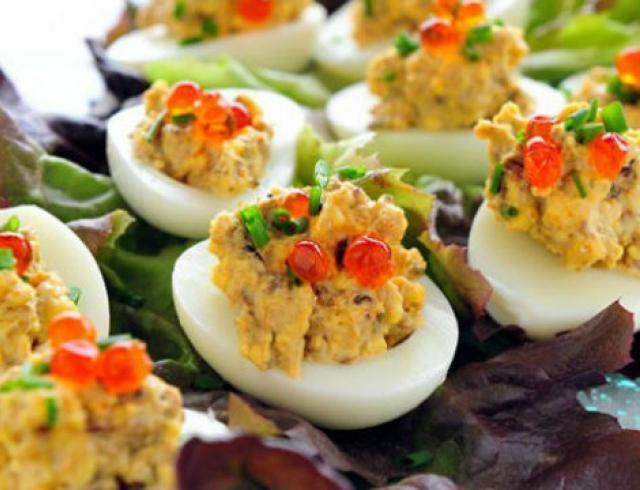 Рецепты пасхального стола: топ 3 рецепта из вареных яиц