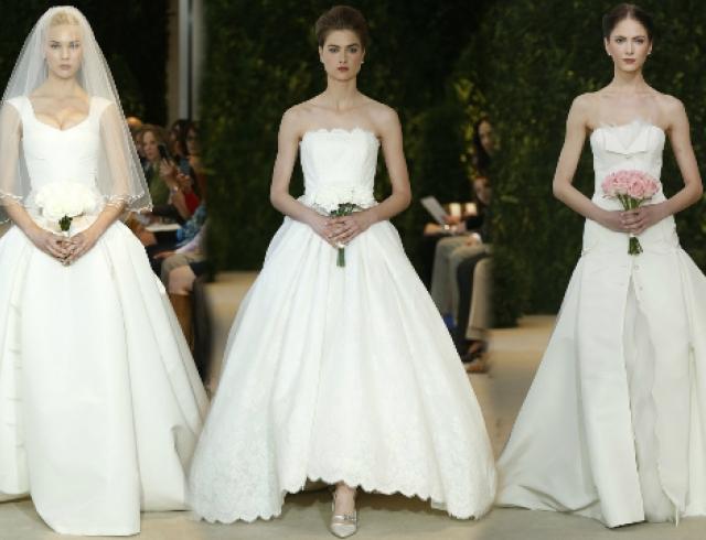 Свадебные платья Carolina Herrera весна-лето 2014