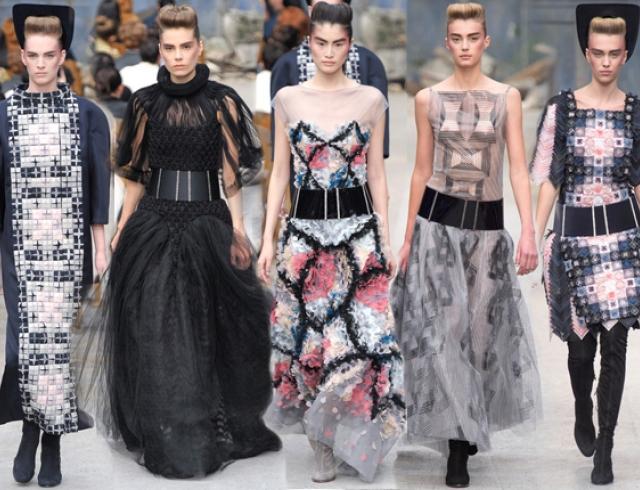 Неделя высокой моды в Париже: Chanel Couture FW 13/14
