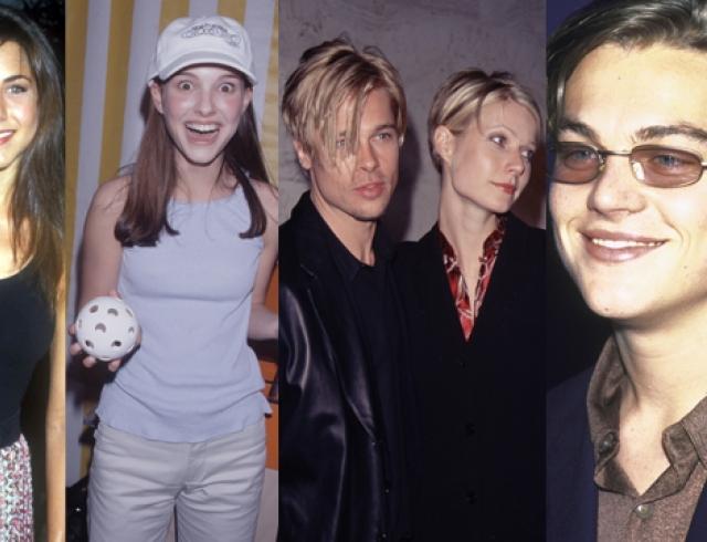 Как выглядели знаменитости в крутые 90-е года