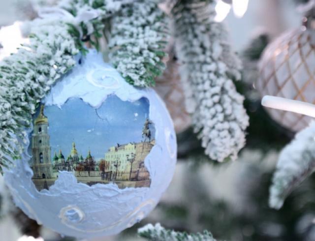 В Киеве проходит выставка новогодних идей и декора