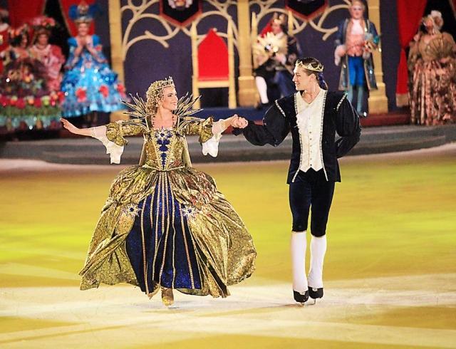 В Украине покажут знаменитый мюзикл на льду Золушка