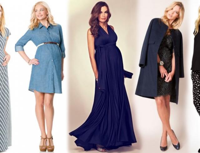 Мода для беременных сезона весна-лето 2014
