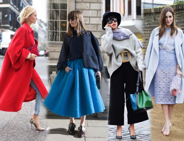 Уличный стиль на Неделе моды в Лондоне