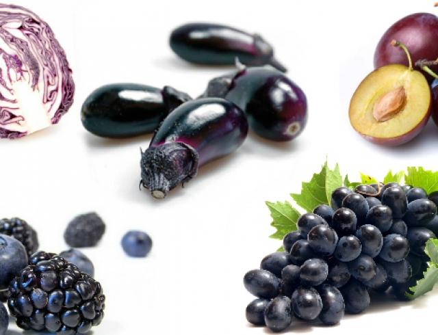 Фиолетовая диета