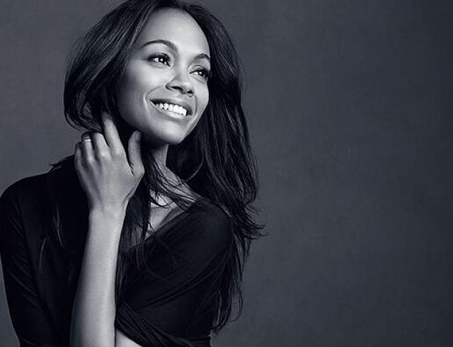 Зоуи Салдана стала посланницей бренда L'Oreal Paris