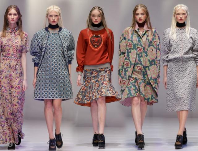 Kiev Fashion Days: коллекция ANDREEVA осень-зима 2014-2015