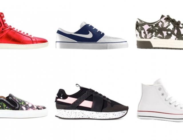 Модные кеды и кроссовки сезона весна-лето 2014
