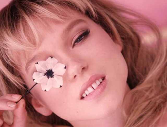 Леа Сейду представила новый аромат Prada Candy Florale