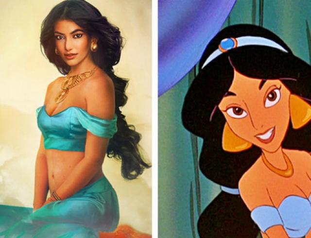 Принцессы Disney и Урсула ожили на портретах Йирки Ваатайнена