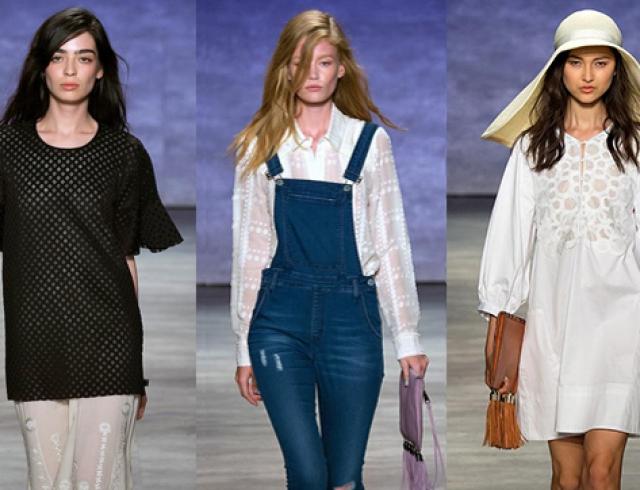 Неделя моды в Нью-Йорке: Rebecca Minkoff, весна-лето 2015