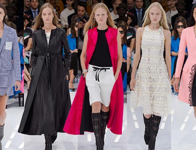 Неделя моды в Париже: Christian Dior, весна-лето 2015