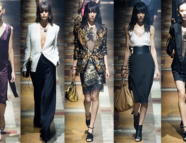 Неделя моды в Париже: Lanvin, весна-лето 2015