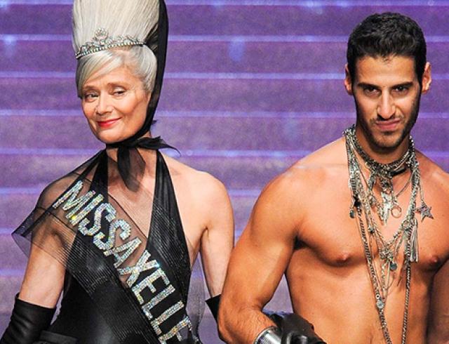 Неделя моды в Париже: Jean Paul Gaultier, весна-лето 2015