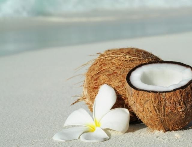 В чем польза кокосового масла. Инфографика