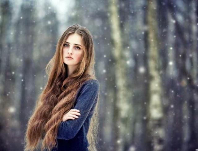 Как защитить волосы от холода