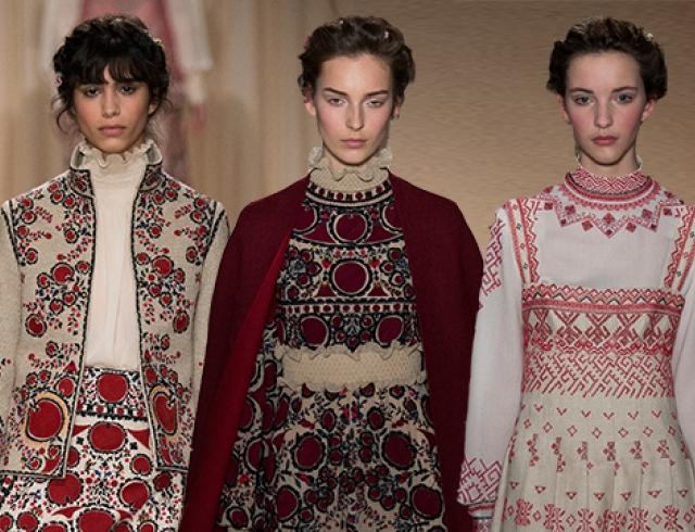 Неделя высокой моды в Париже: коллекция Valentino, весна 2015