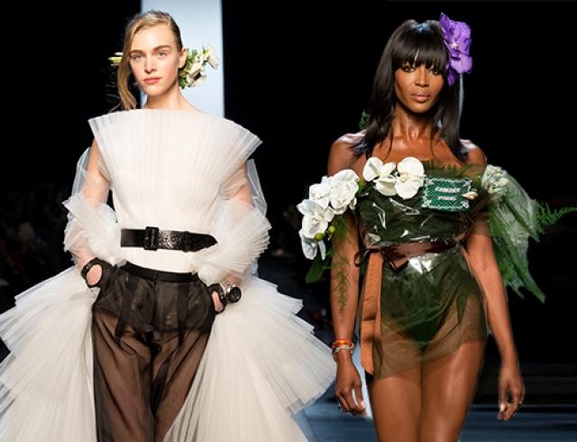 Неделя высокой моды в Париже: Jean Paul Gaultier, весна 2015