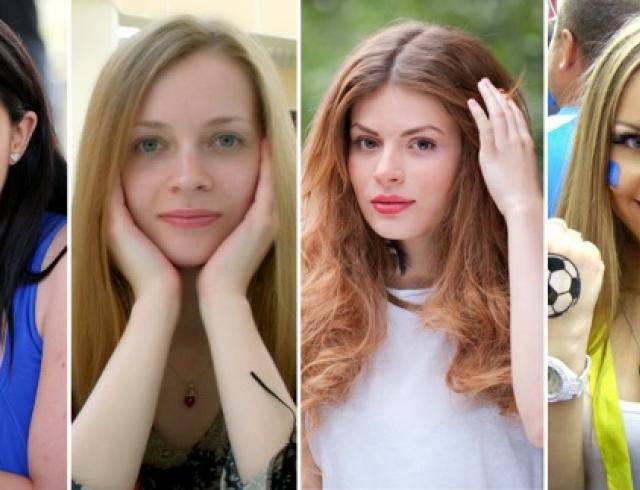 Как красятся женщины в разных странах