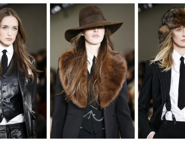 Неделя моды в Нью-Йорке: Ralph Lauren осень-зима 2015/16