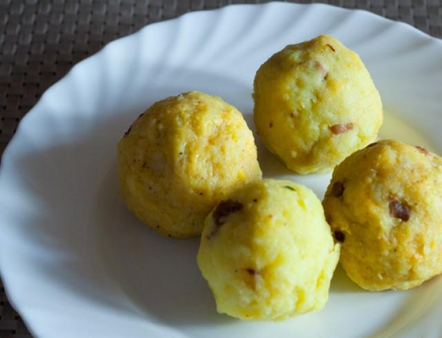 Все буде смачно 22.04.2015: картофельный кропкакор под клюквенным соусом