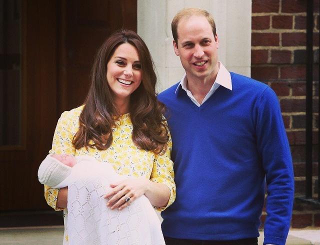Как зовут маленькую принцессу: Кейт Миддлтон и принц Уильям объявили имя дочери