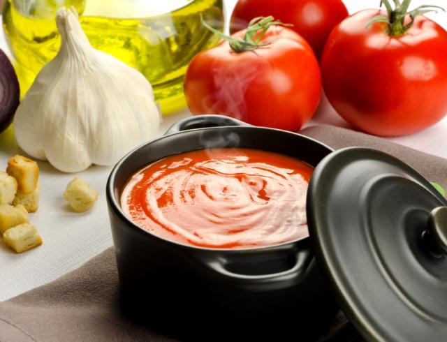 Летняя томатная окрошка от Аллы Костромичевой