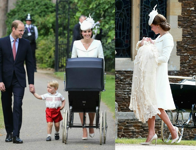 Как крестили принцессу Шарлотту