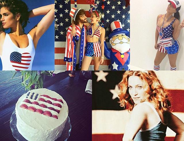 Как звезды отметили День независимости США