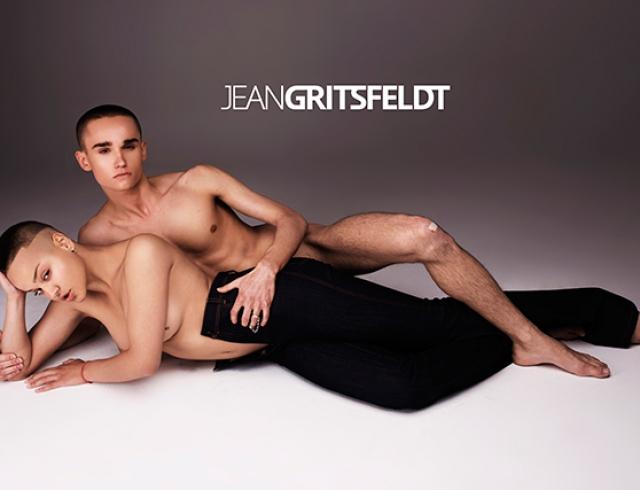 Обнаженные бунтари: рекламная кампания Jean Gritsfeldt