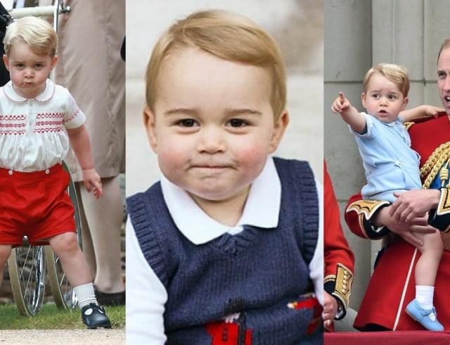 Принцу Георгу – 2 года: самые яркие выходы королевского первенца