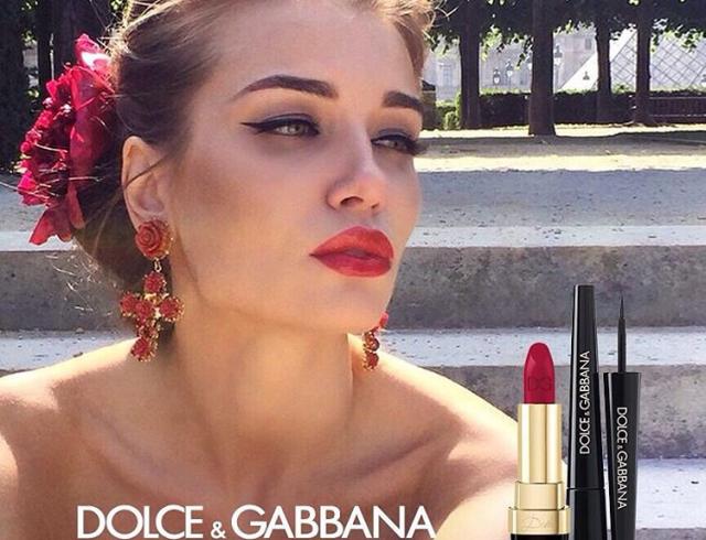 Dolce & Gabbana запустили бьюти-флешмоб в социальных сетях