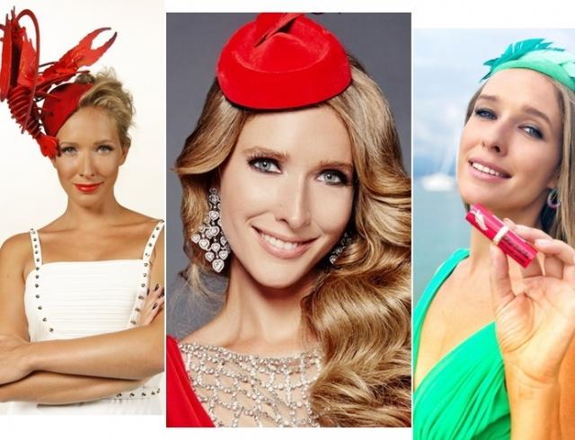 Дама в шляпе: вспоминаем удивительные головные уборы Кати Осадчей ко дню рождения