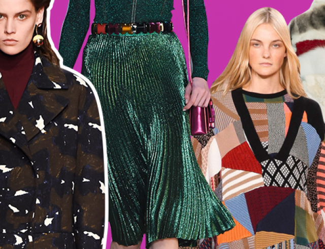 Каким должен быть осенний гардероб 2015: 7 основных трендов