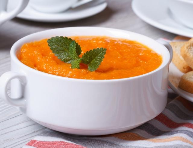 Все буде смачно 30.09.2015: пикантный суп-пюре с морковью