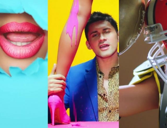 Сексуальный фэшн-каламбур: Алан Бадоев снял сочный клип для певца Dan Balan