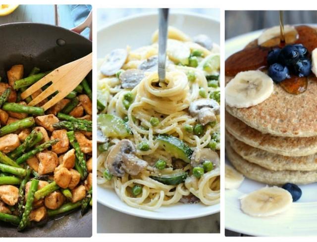 Правильное питание: детальное меню на 5 дней