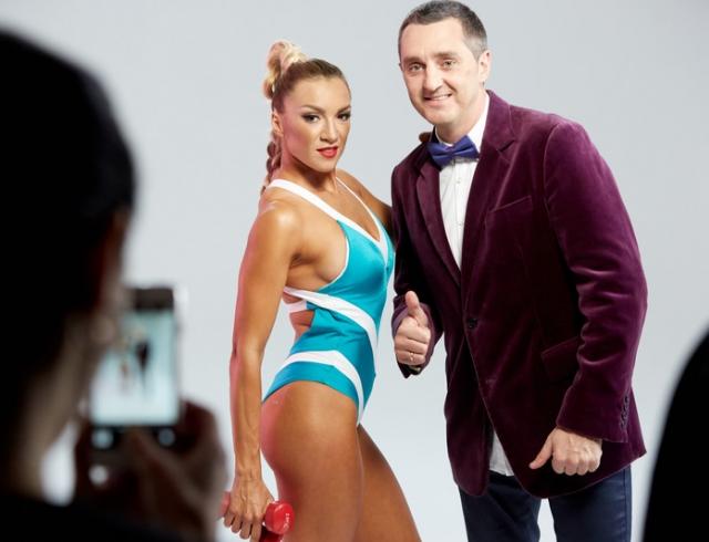 """Идеальное тело: Дядя Жора снял свою жену, фитнес-чемпионку, в клипе """"Буду круче"""""""