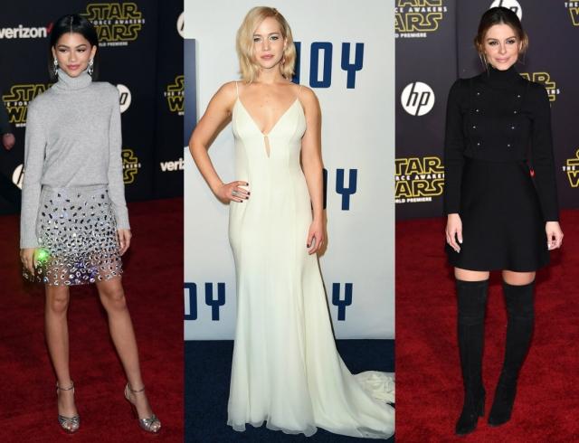 Голосуем! Самые стильные звезды недели: Зендая, Дженифер Лоуренс и Мария Менунос