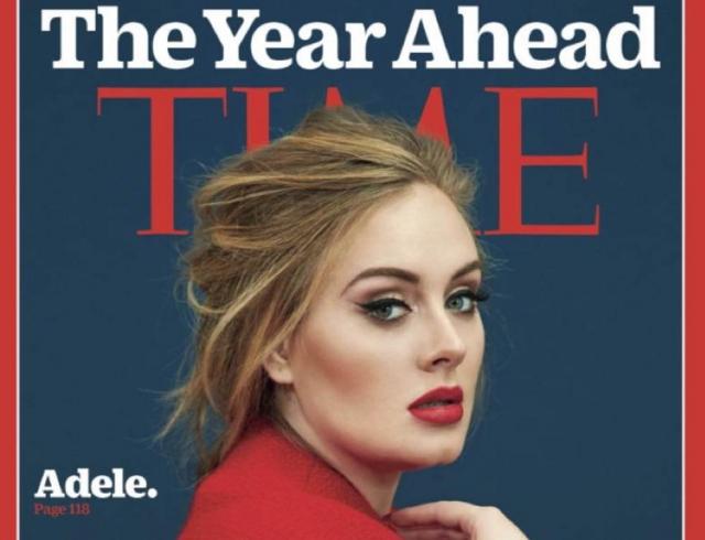 Новое интервью для Time: Адель рассказала о зависимости от соцсетей и материнстве